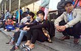 """Các nhà xe """"đình công"""" tại BX Mỹ Đình: Tước phù hiệu xe bỏ rơi khách"""