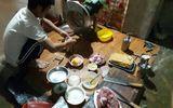 Hà Tĩnh: Phát hiện cơ sở sản xuất giò chả sử dụng hàn the