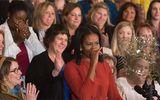Đệ nhất phu nhân Michelle Obama rớm lệ nói lời chia tay