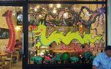 Xuất hiện cửa hàng ăn uống có hình trang trí rồng như... pikachu