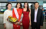 Hoa hậu Phạm Hương, á hậu Thiên Lý tiễn Lệ Hằng thi Miss Universe 2016