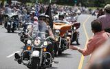 5.000 người chơi mô tô tình nguyện bảo vệ ngày nhậm chức của Donald Trump