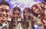 Slim V gây bấn loạn khi biểu diễn và selfie cùng T-ara