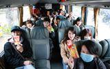 2.000 sinh viên được đi xe miễn phí về quê đón Tết Đinh Dậu