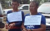 Bắt 2 người Lào vận chuyển 41 nghìn viên ma túy tổng hợp
