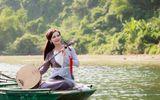 Diện đồ cổ trang, Phạm Phương Thảo quay MV đẹp như thơ ở Tràng An