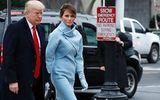 Thời trang thanh lịch của phu nhân Donald Trump trong ngày chồng nhậm chức
