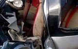 Xe khách tông trực diện xe tải, bé 9 tuổi tử vong, nhiều người bị thương