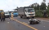 Tin trong nước - Đắk Lắk: Xe biển xanh chở đoàn đi chúc Tết tông 2 giáo viên tử vong