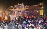 """Tái hiện lễ """"phát quân lương"""" tại đền Trần Thương"""