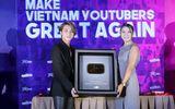 Sơn Tùng M-TP lần đầu dự sự kiện với vai trò CEO, vinh dự nhận nút vàng Youtube