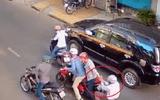 Đặc nhiệm mật phục, bắt kẻ truy nã trong băng dàn cảnh đụng xe đoạt tiền