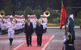 Lễ đón Nhà vua và Hoàng hậu Nhật Bản tại Hà Nội