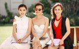 Hoa hậu Ngọc Duyên tinh khôi đọ dáng cùng Hằng Nguyễn trên ghế giám khảo