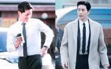 """Vẻ điển trai """"bất phân thắng bại"""" của Song Joong Ki và Park Hae Jin"""