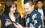 Ngọc Trinh diện túi hàng hiệu, vui vẻ cùng Khắc Tiệp tại sự kiện