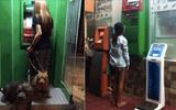 Cộng đồng mạng - Hài hước những bức ảnh cho thấy rút tiền tại ATM đã không còn đơn giản