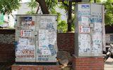 Hình ảnh - Chùm ảnh: Quảng cáo, rao vặt lem nhem khắp Thủ đô