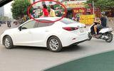 Ủy ban ATGT Quốc gia vào cuộc vụ 2 bé gái ngồi trên nóc xe ô tô Mazda