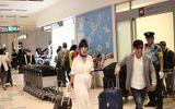 Vợ chồng Lý Hải tươi tắn lên đường sang Nhật Bản tham dự Liên hoan phim Quốc tế