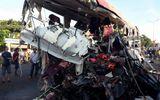 Xe đầu kéo chạy 105 km/h khi đối đầu ôtô khách khiến 12 người chết