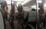 Nữ hành khách chửi bới, la hét trên máy bay bị cấm bay 12 tháng