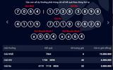Kết quả xổ số điện toán Vietlott ngày 18/5: 4 người trúng giải 15 triệu đồng