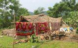 Tin trong nước - Mưa kèm lốc xoáy quật đổ nhà, bé 5 tuổi bị thương nặng
