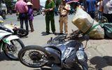 Tai nạn liên hoàn, xe container bị vạ lây