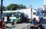 Xe khách tông xe tải, hàng chục hành khách hoảng loạn kêu cứu