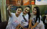 Fan chế clip Lệ Hằng cùng Hoa hậu Hoàn vũ 2015 tái hiện sự cố trao nhầm vương miện
