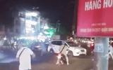 Nổ súng trấn áp nhóm thanh niên mặc áo GrabBike hỗn chiến tại bến xe Miền Tây