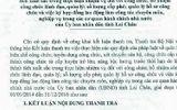 Kết luận thanh tra việc quản lý biên chế công chức tại Lai Châu