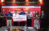 Bí quyết làm giàu - Vietlott trao giải Jackpot 21 tỷ cho khách hàng tới từ Hà Nội