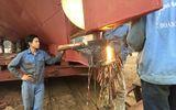 Tin trong nước - Nhiều tàu vỏ thép ở Thanh Hóa bị hư hỏng