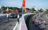 Tin trong nước - TP. Hồ Chí Minh khánh thành hai nhánh cầu Nguyễn Văn Cừ trước 5 tháng
