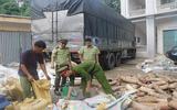 Bắt xe tải vận chuyển hơn 2,7 tấn ngà voi