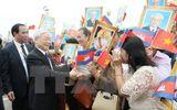 Tin trong nước - Tổng Bí thư kết thúc chuyến thăm tốt đẹp Vương quốc Campuchia