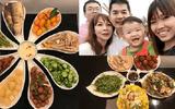 Mâm cơm thuần Việt làm người Đài Loan thán phục