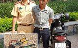 Pháp luật -  Hà Nội: Thanh niên ăn mặc lịch sự điều khiển xe gian