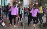 Truy tìm nhóm thiếu nữ dùng gậy sắt hỗn chiến trước cổng trường