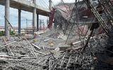 Đang đổ bê tông thì sập giàn giáo, 9 người nhập viện cấp cứu