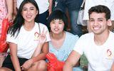 Hoa hậu Người Việt Quốc tế về quê nhà làm từ thiện sau khi đăng quang