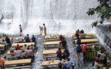 Ăn - Chơi - Độc đáo nhà hàng ở chân thác nước