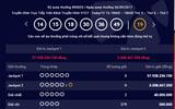 Tin tức - Kết quả xổ số điện toán Vietlott ngày 26/9: Giải Jackpot hơn 57 tỷ đồng chưa có chủ