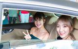 Tin tức - Bà xã Lý Hải ra sân bay đón hot girl nổi tiếng xứ sở chuà vàng