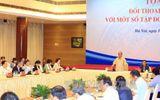 Thủ tướng Nguyễn Xuân Phúc đối thoại chính sách với một số Tập đoàn kinh tế tư nhân