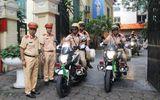 Hà Nội cử 100 cảnh sát giao thông, 32 xe dẫn đoàn vào Đà Nẵng phục vụ APEC