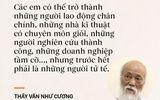 Thầy Văn Như Cương nói về chiếc quần rách thời học sinh