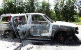 Giám đốc chết trong ô tô bị phóng hỏa: Bị cướp hay thanh toán do mâu thuẫn?